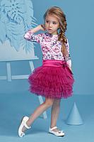 """Детский нарядный костюм для девочки """"Яркий мотив"""""""