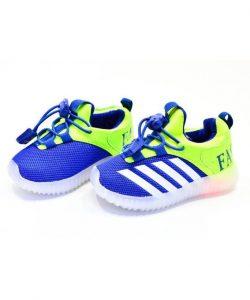 яркие детские кроссовки с подсветкой 23255 фотография