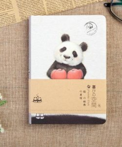 блокнот скетчбук веселая панда 20180401 фотография