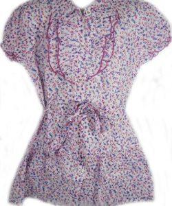 блуза летняя для девочки лето 930 фотография