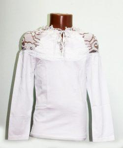 блуза для девочки трикотажная 2050 фотография