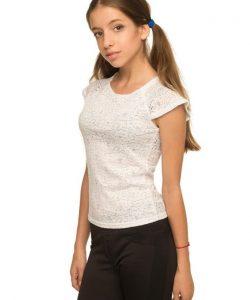 блуза трикотажная для девочки, школа 1472 фотография
