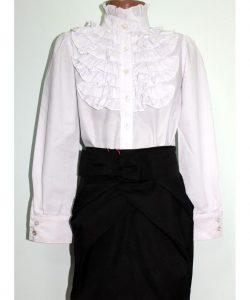 блузка для девочки рюши 260718 фотография