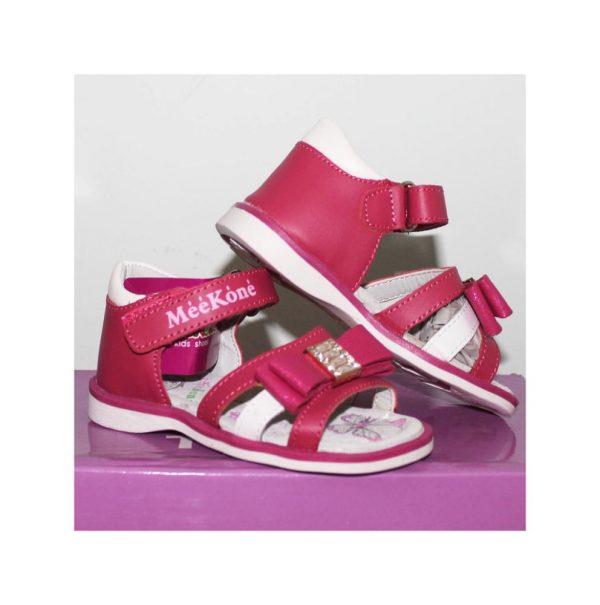 босоножки для маленькой девочки розовые А053 фотография