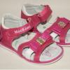 босоножки для маленькой девочки розовые А053 фотография №2