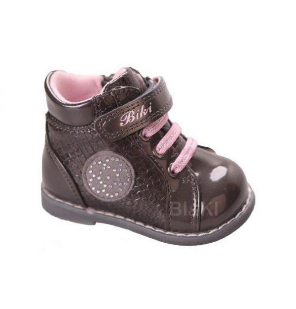 ботинки демисезонные для маленькой девочки 39377 фотография