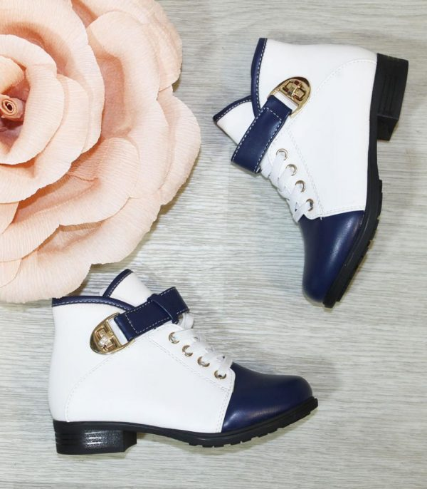 ботинки детские демисезонные для девочки 2206 фотография