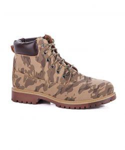ботинки для мальчика подростка хаки 10112 фотография
