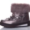 ботинки зимние для девочки с натуральным мехом, 32-37 8383 фотография №5