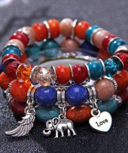 браслет женский в стиле бохо, слон 1028 фотография