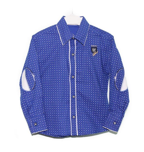 брендовая рубашка для мальчика нарядная 230818 фотография