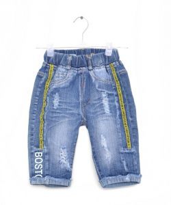бриджи джинсовые на мальчика бостон 1859 фотография