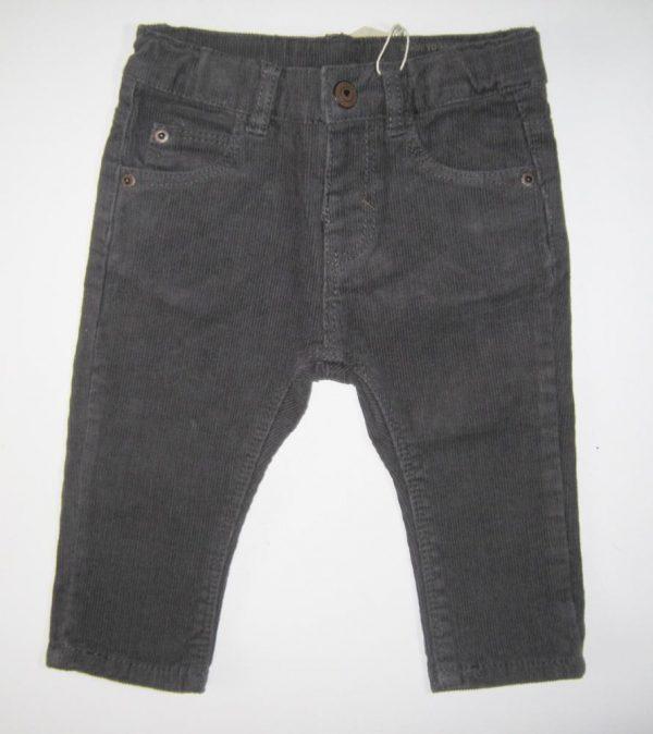 брюки вельветовые для мальчика малышок zara 7067 фотография