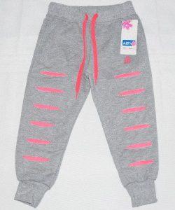 брюки спортивные детские для девочки на манжете 1808161 фотография