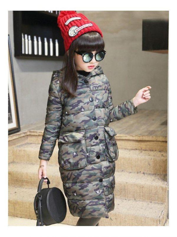 пальто на девочку барни 65444 фотография