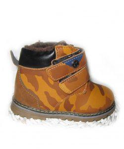 демисезонные ботинки детские рыжие, 21-25 611177 фотография