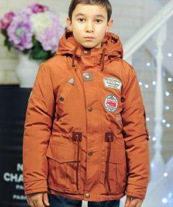 детская удлиненная демисезонная куртка для мальчика 902173 фотография