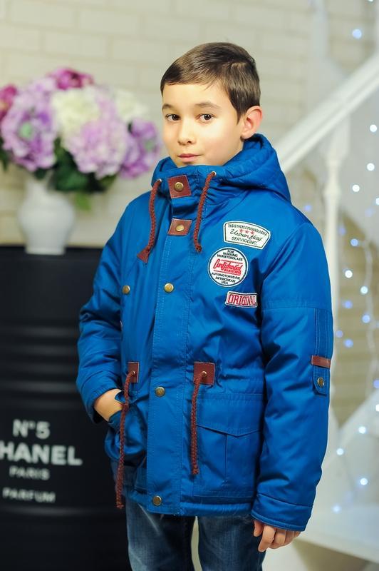 демисезонная детская куртка для мальчика весна-осень 902172 фотография