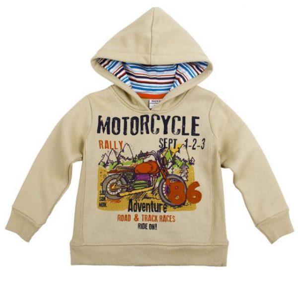 детская кофта на мальчика утепленная с капюшоном 280915 фотография