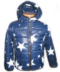 детская куртка демисезонная для мальчика, звезды 1831 фотография