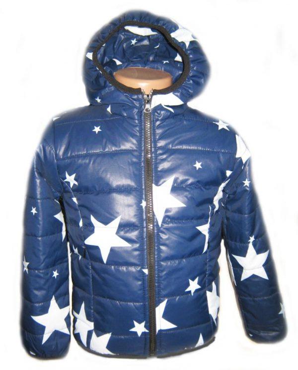 детская куртка для мальчика звезды 1831 фотография