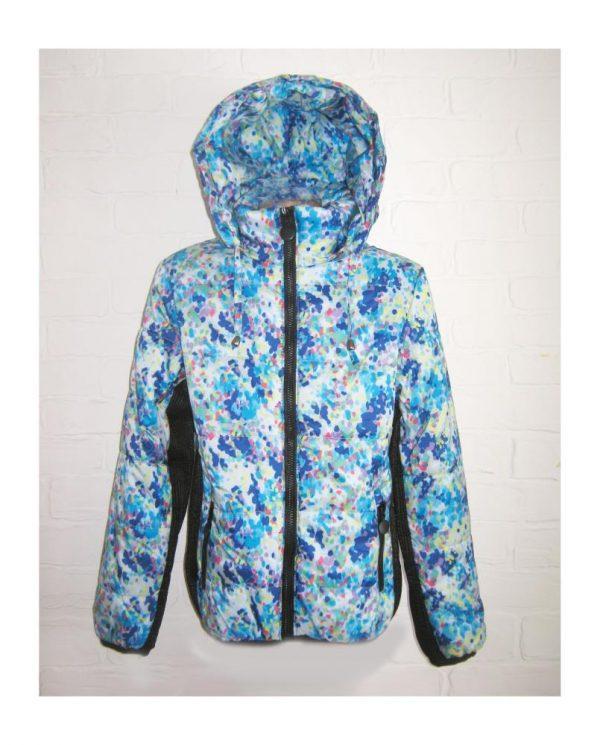 детская куртка ветровка для девочки в спортивном стиле 609162 фотография