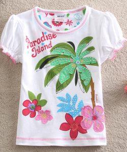 детская летняя футболка для девочки 1305162 фотография