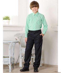 детская рубашка для мальчика в школу 250717 фотография
