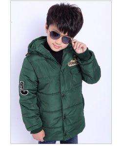 детская теплая демисезонная куртка для мальчика 710173 фотография