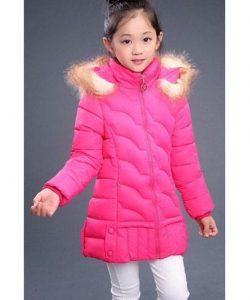 детская зимняя куртка на девочку, еврозима 221116 фотография