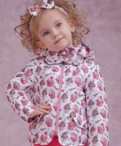 детская демисезонная куртка для девочки прованс 4064 фотография
