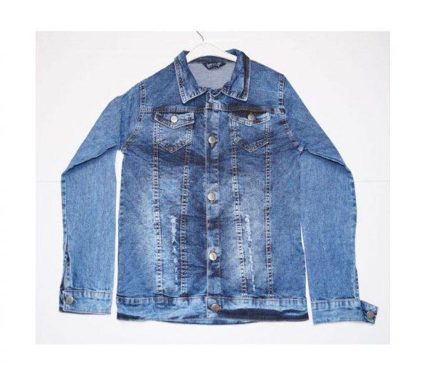 детская джинсовая куртка на пуговицах для детей 4665 фотография