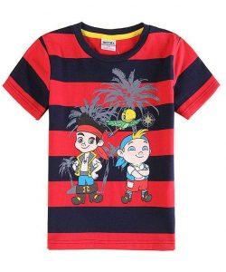 детская футболка для мальчика в полоску c6152y фотография