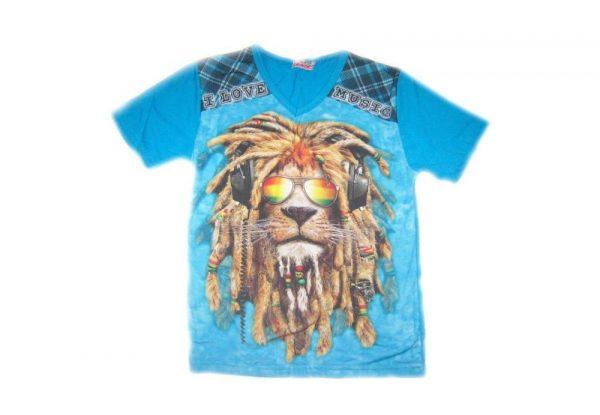 детская летняя футболка для мальчика 100517 фотография