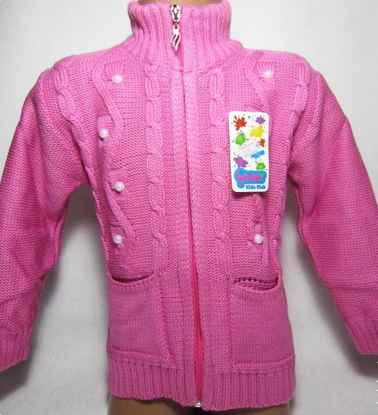 детская кофта для девочки на молнии 290915 фотография