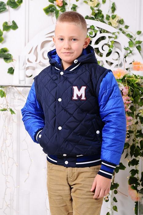 детская куртка на мальчика трансформер демисезонная 902175 фотография