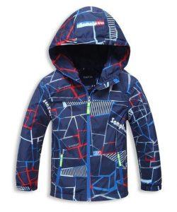 детская демисезонная куртка для мальчика из барьерной ткани 502162 фотография