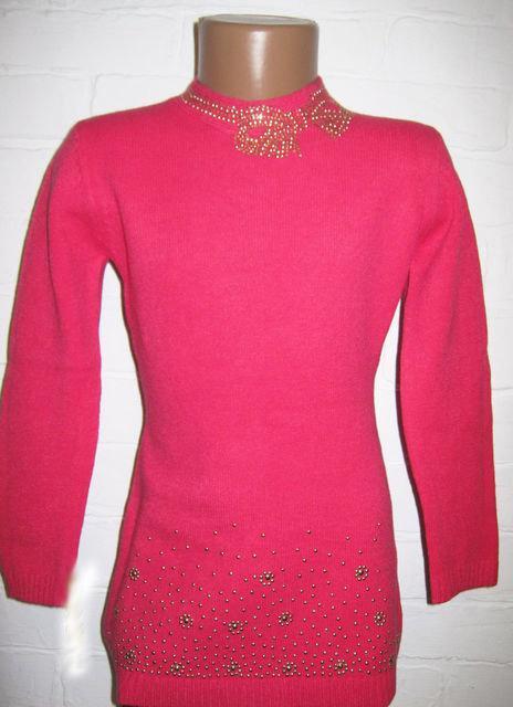 детская теплая туника свитер на девочку 171114 фотография