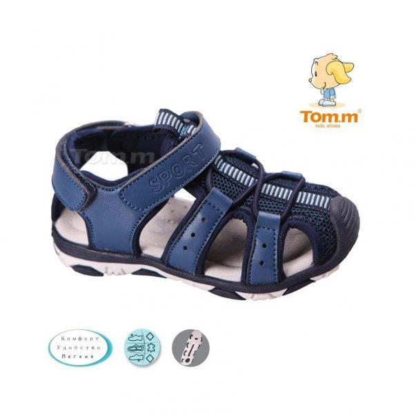 детские босоножки для мальчика синие tom.m, 20-25 3586 фотография