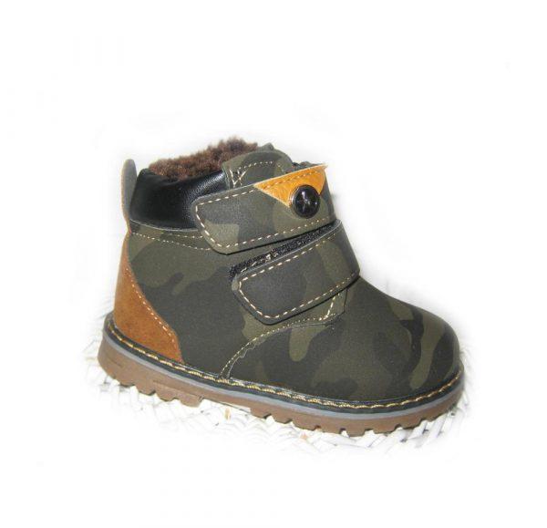 детские демисезонные ботинки для мальчика три расцветки 61117 фотография