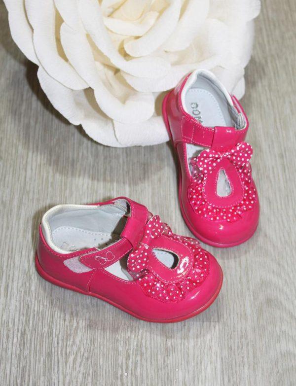 детские лаковые туфли для маленькой девочки 022 фотография