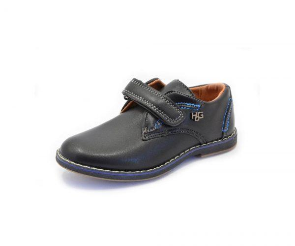 детские туфли для мальчика на липучке 6323 фотография