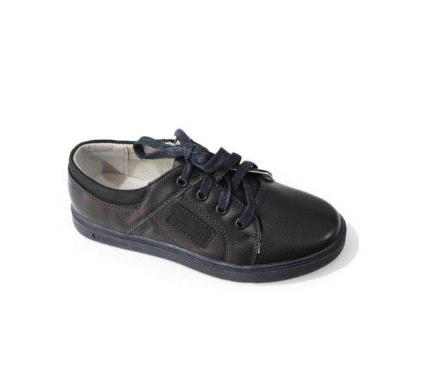 детские туфли для мальчика, шнуровка молния 873-5 фотография