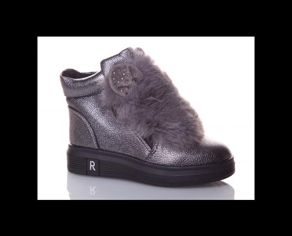 детские зимние ботинки для девочки, 27-32 70118 фотография