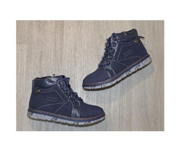 детские зимние ботинки для мальчика 2599 фотография