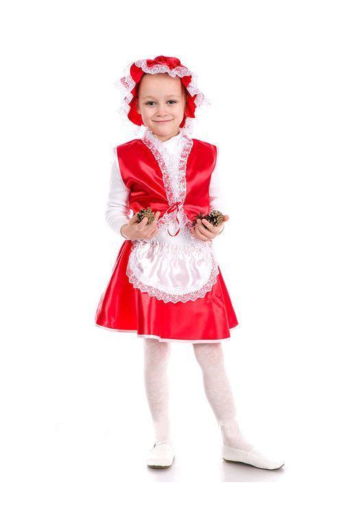 детский карнавальный костюм для девочки, красная шапочка красная шапочка фотография
