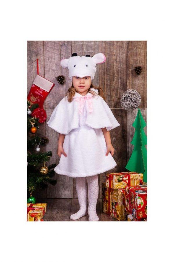 детский карнавальный костюм для девочки, овечка овечка фотография