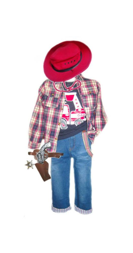 детский карнавальный костюм для мальчика, ковбой ковбой фотография