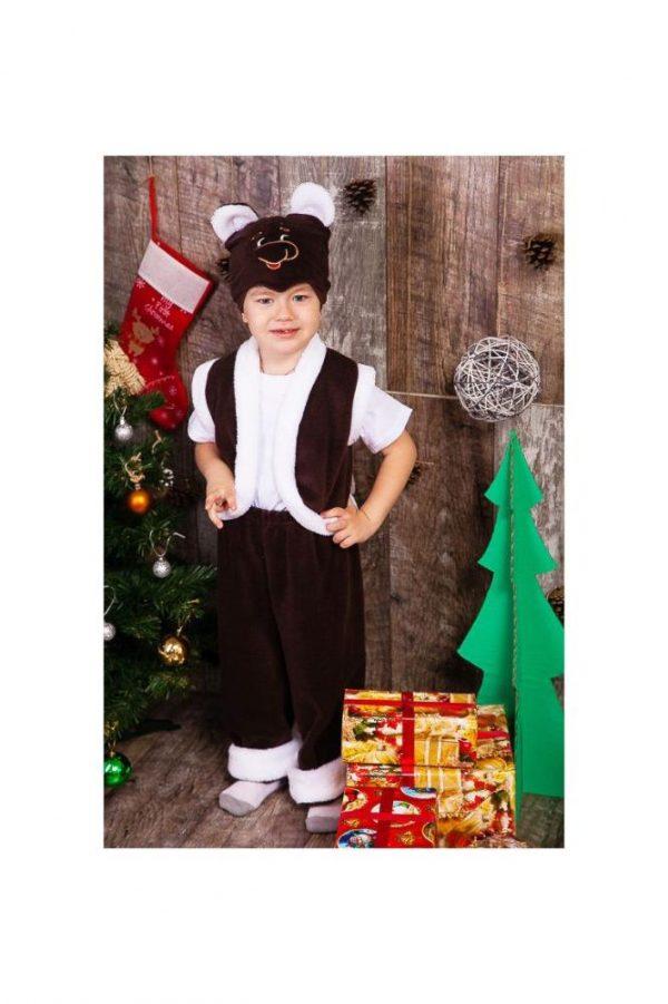 детский карнавальный костюм для мальчика, мишка мишка фотография