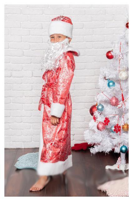 детский карнавальный костюм на новый год, дед мороз дед мороз фотография
